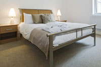 Bedstead framed bed
