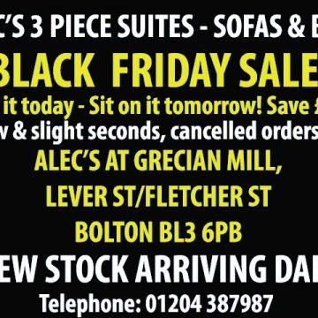 Black Friday Sofa Snapshot