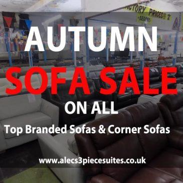 Autumn/Winter Sofa Sale