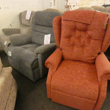 Riser Recliner Chairs priced between £399 and £599