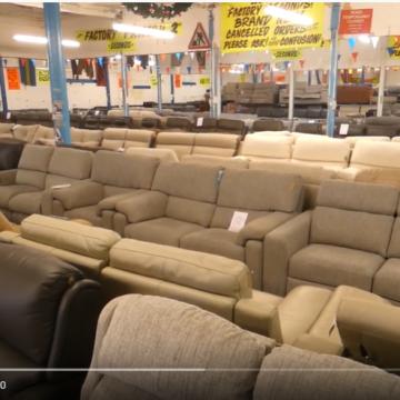 Walkaround the main sofa showroom – 7 December 2019 (Video)