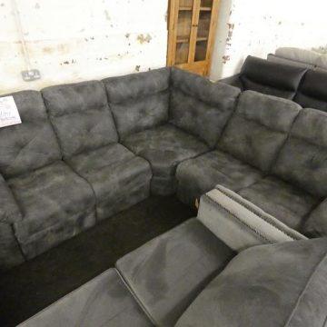 Top Quality Grey Fabric Corner Sofas