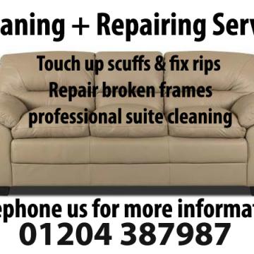 Sofa Cleaning & Repairs