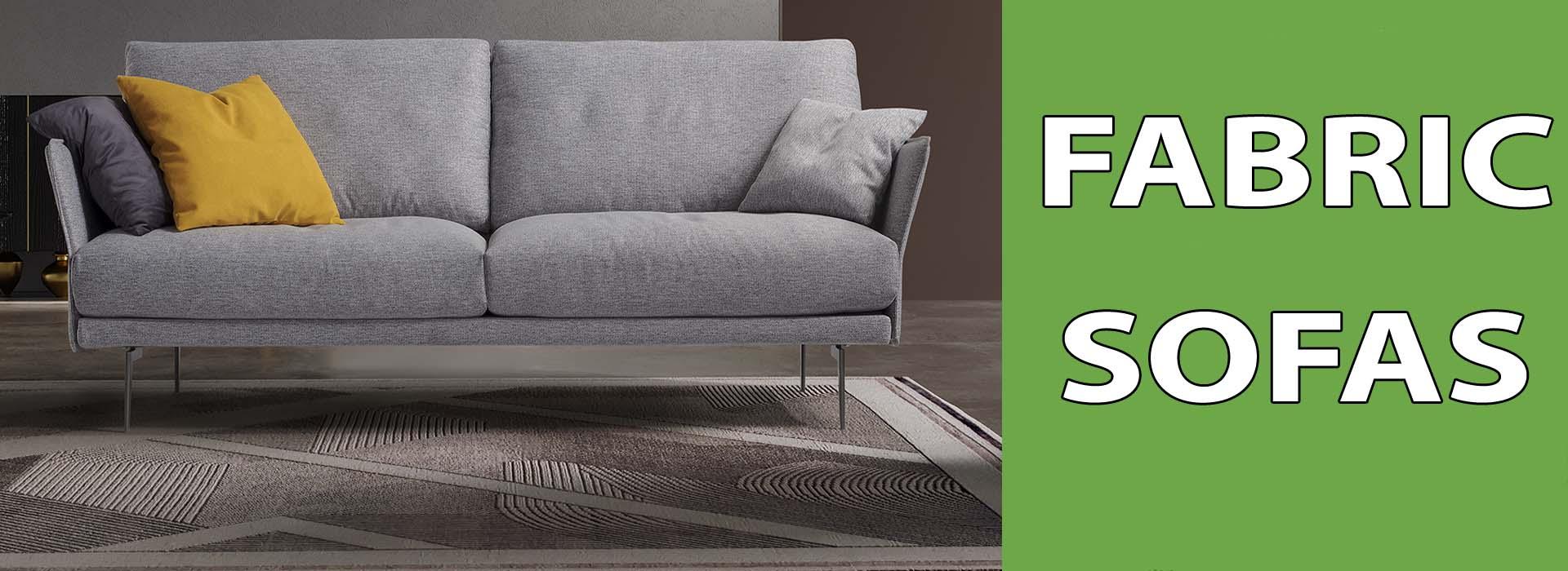 fabric sofa sale