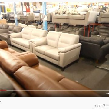 A short video of sofa showroom one